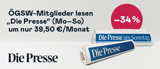 Logo: Die Presse - Wir schreiben seit 1848.