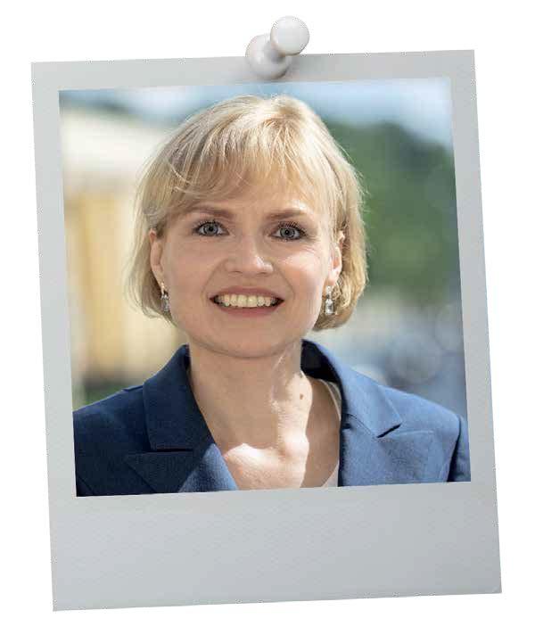 Portrait zeigt Silke Kobald
