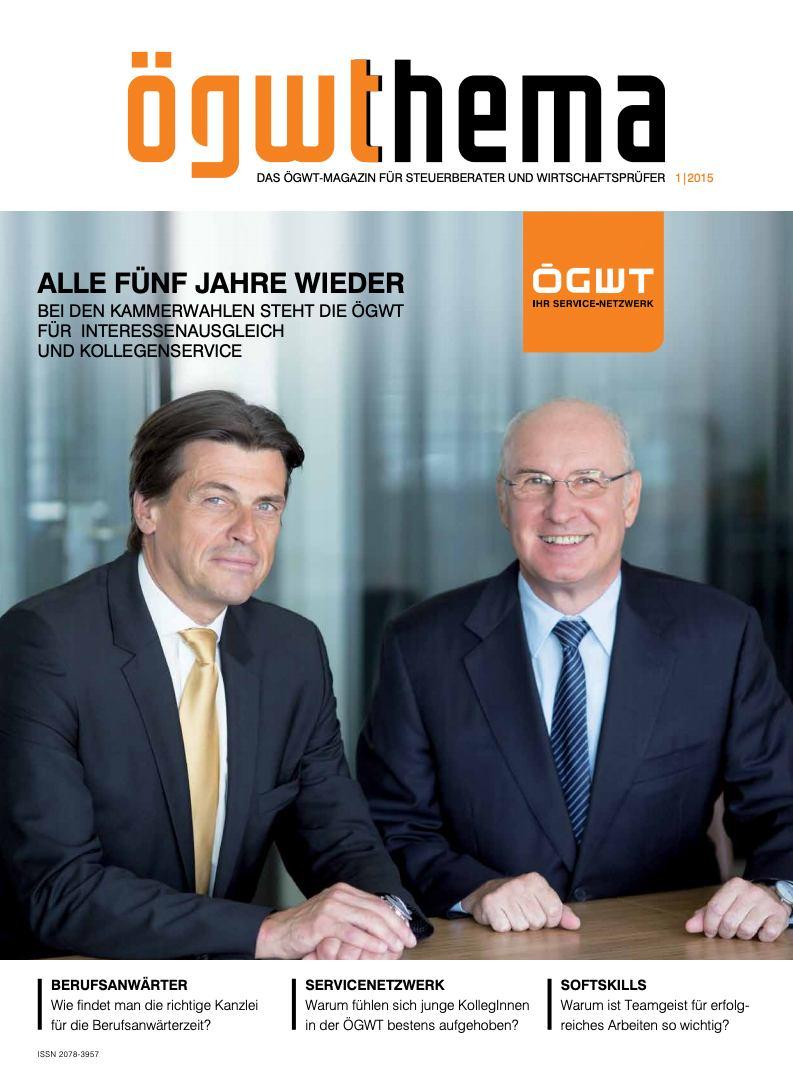 Cover Ausgabe 01/2015