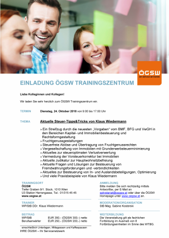 ÖGSW Trainingszentrum Wien