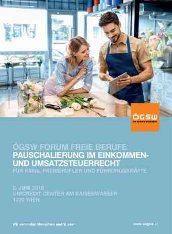 ÖGSW Forum Freie Berufe 2018
