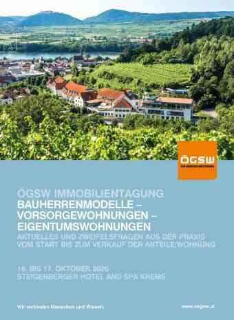 ÖGSW Kremser Immobilientagung
