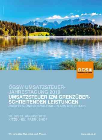 ÖGSW Umsatzsteuerjahrestagung 2019