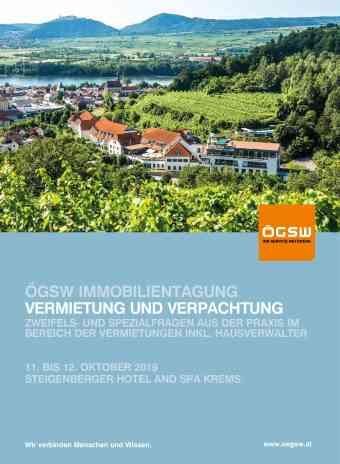 ÖGSW Immobilientagung
