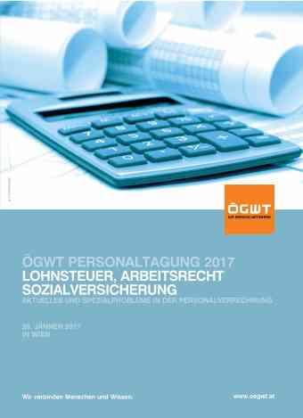 ÖGSW Personaltagung 2017