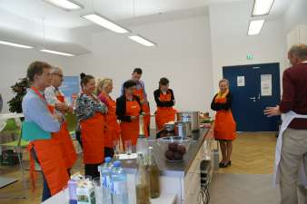 ÖGSW Präsentations- und Kochtraining 2014