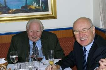 Franz Burkert feiert seinen 90er
